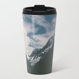 Mountains and clouds Travel Mug