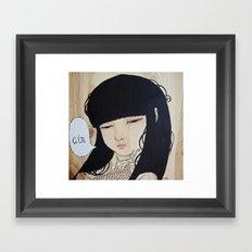 Trifecta - Air Framed Art Print