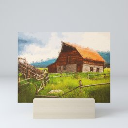 Into the Fields Mini Art Print