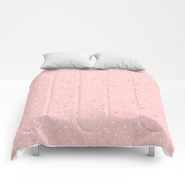 Pink stars Comforters
