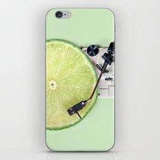 LIME DJ iPhone Skin