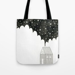 House in the Night Tote Bag