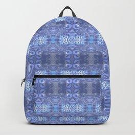 winter winds pattern Backpack