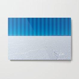 Striped Skies on the Salt Flats, Bolivia Metal Print
