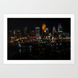 The City of Cincinnati Ohio Art Print