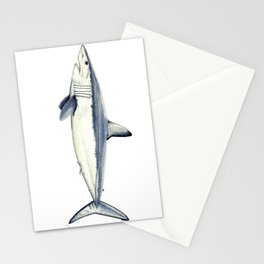 Mako shark (Isurus oxyrinchus) Stationery Cards