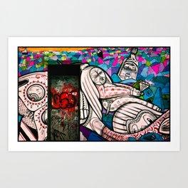 Street Art - Williamsburg, Brooklyn, NYC Art Print