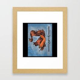 BetaFish Framed Art Print