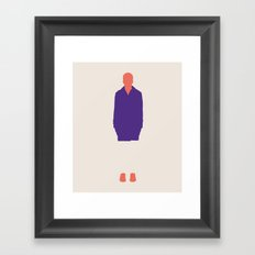 fashion collection  Framed Art Print
