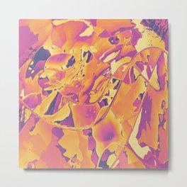 My orange pink fantasy Metal Print