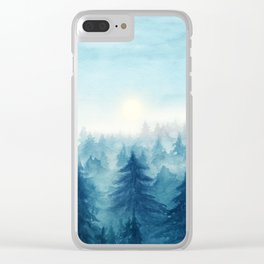 Into The Forest VIII Clear iPhone Case