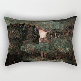 The Eyes of the Forest Rectangular Pillow