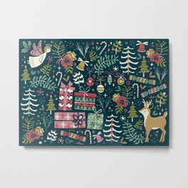 Christmas Joy Metal Print
