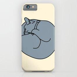 Sleeping Cat 2 iPhone Case