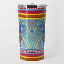 Geckos - Blue Travel Mug