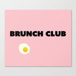 brunch club Canvas Print