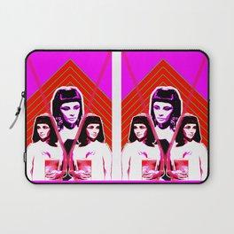 Elizabeth Taylor Goddess - Digital Collage Laptop Sleeve