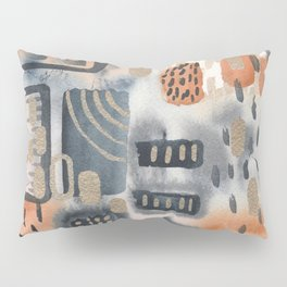 Watercolor abstract improvisation 2 Pillow Sham