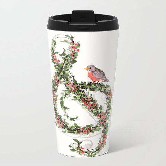 Robin's Song Metal Travel Mug