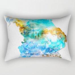 Bavarian map Rectangular Pillow