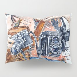 The Photographer Pillow Sham