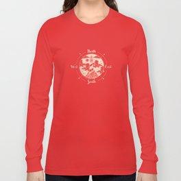 Compass World Star Map Long Sleeve T-shirt