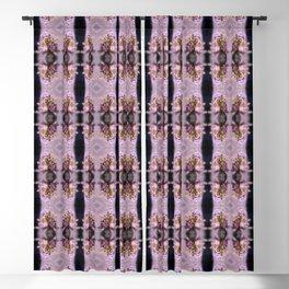 wildflower bouquet, pink pattern Blackout Curtain