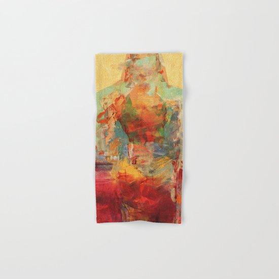 La Mujer y los Elementos Hand & Bath Towel