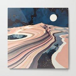 Desert Reflection Metal Print