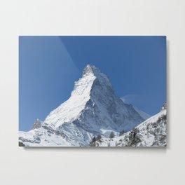 The Matterhorn Metal Print