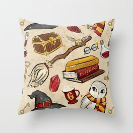 Gryffindor Things Throw Pillow