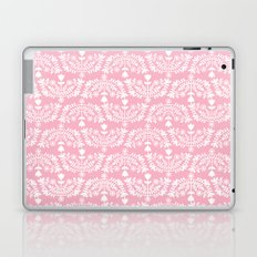 Folk Pattern Pink Laptop & iPad Skin