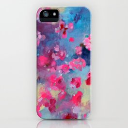 Cherry Blossom Weather iPhone Case