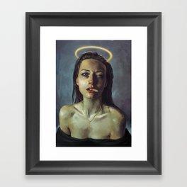 new angel//1/3//new gods Framed Art Print