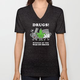 Drugs: Winner Of The War On Drugs Unisex V-Neck