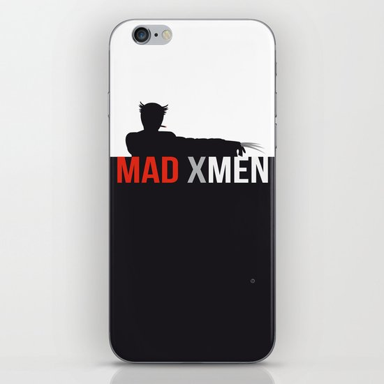 MAD X MEN iPhone & iPod Skin