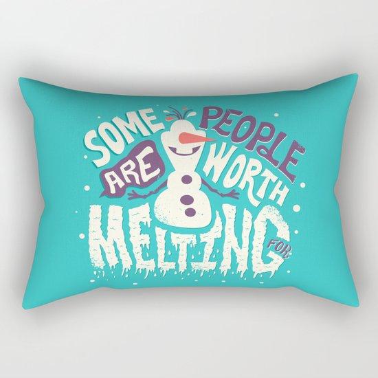 Worth melting for Rectangular Pillow