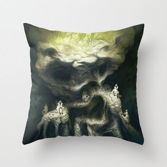 Jöbii Troop Throw Pillow