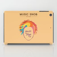 paramore iPad Cases featuring MORE Music to DYE for — Music Snob Tip #075.5 by Elizabeth Owens
