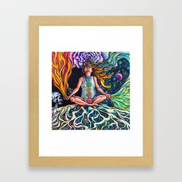 Goddess Rising Framed Art Print