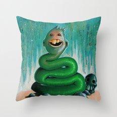 Strange Character #1 Throw Pillow