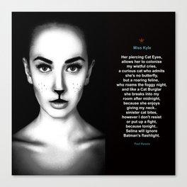 Miss Kyle Canvas Print