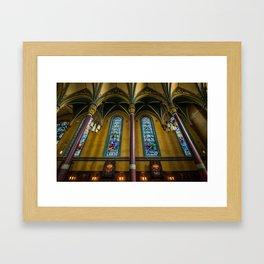 Cathedral Of The Madeleine - Utah Framed Art Print