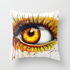 -Soul fire- Throw Pillow