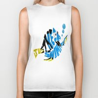 "finding nemo Biker Tanks featuring ""just keep swimming"" (Finding Nemo- Dory) by Art of Fernie"