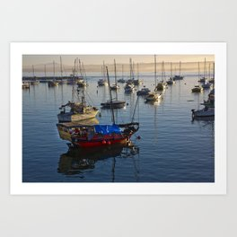 Monterey Morning Art Print