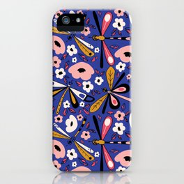 Fantasy Dragonfly iPhone Case