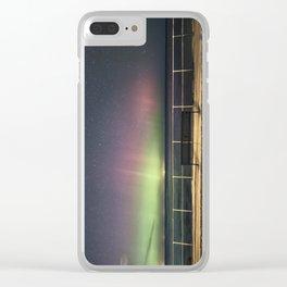 April Aurora Clear iPhone Case