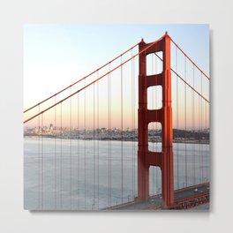 GOLDEN GATE BRIDGE - 1 Metal Print