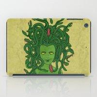medusa iPad Cases featuring Medusa by TheAsmek